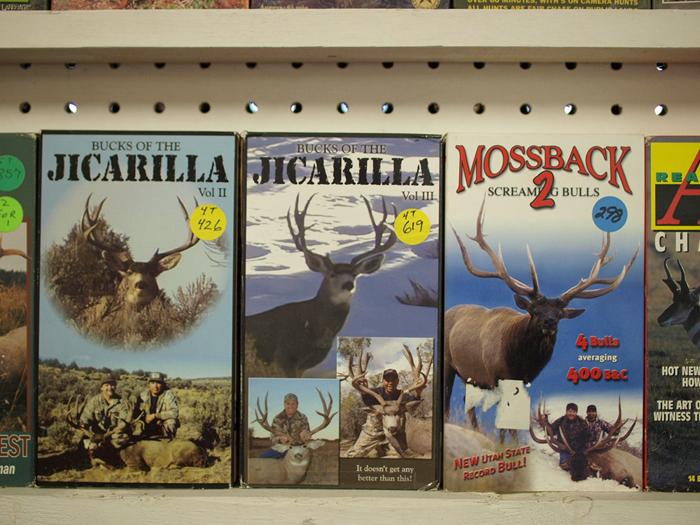 Elk snuff films on VHS