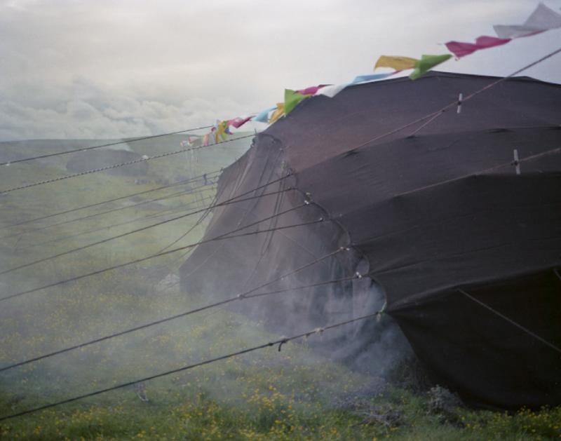Sola's Tent with Smoke, Dashika