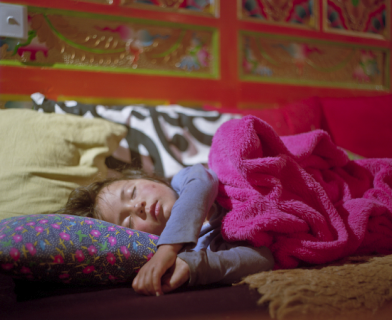 Somtso Sleeping, Lhagang