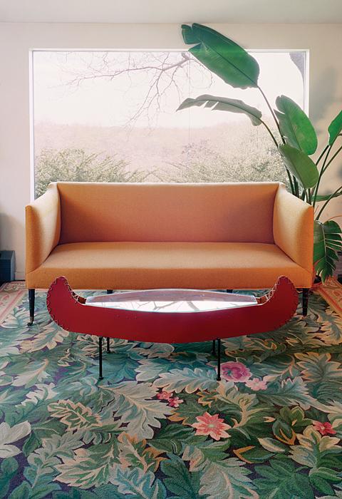 Untitled Interior (canoe table)