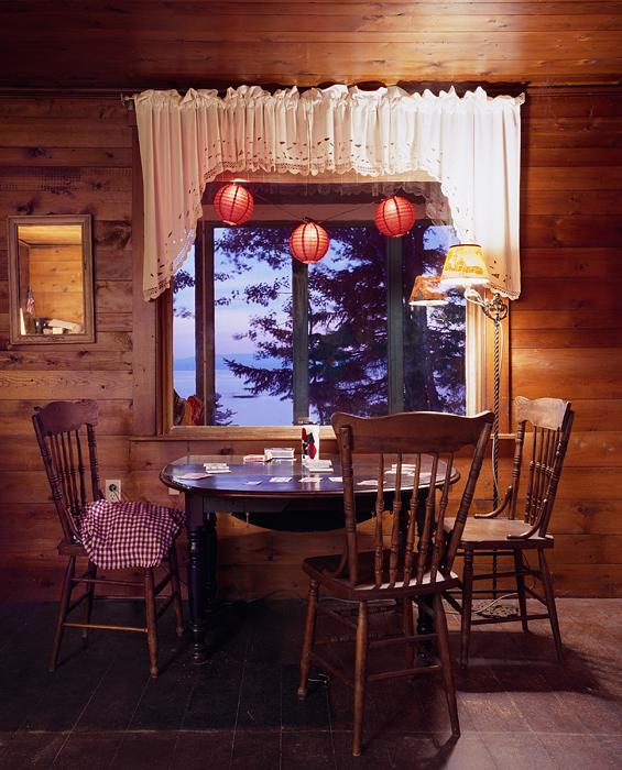 Untitled Interior (red lanterns)