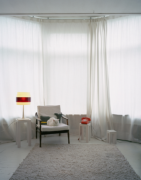 Untitled Interior (B in white room)