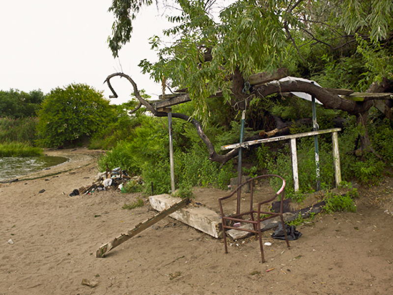 Abandoned Along Fresh Creek Basin, Brooklyn, NY, 2009