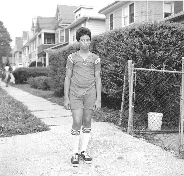 Teen with Tube Socks