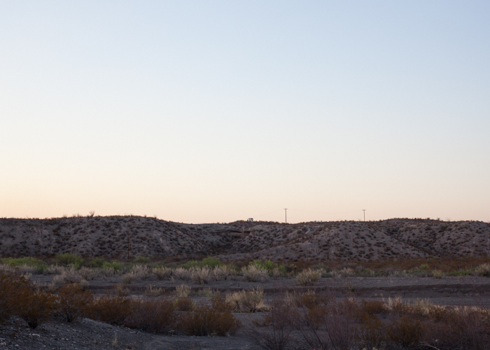 Border Patrol on Ridge