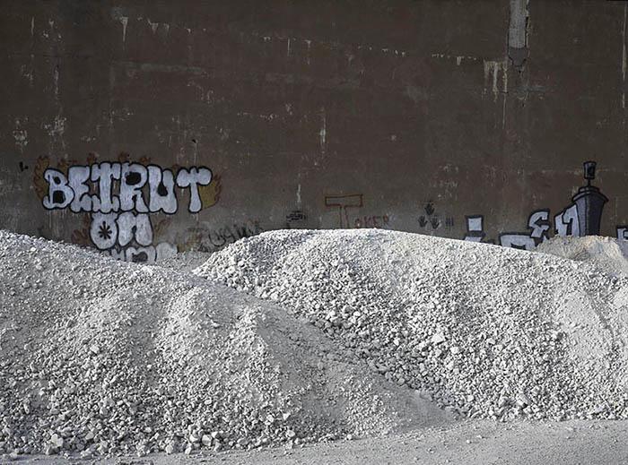 Beirut Stone Pile, Lebanon
