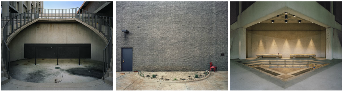 "Nate Matthews from the series ""Institutional Spaces"""