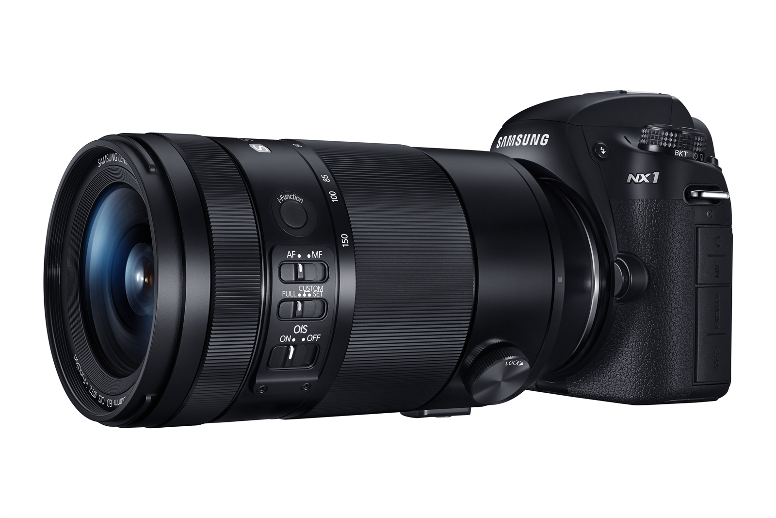 The Samsung NX1 and 50-150mm f2.8 lens