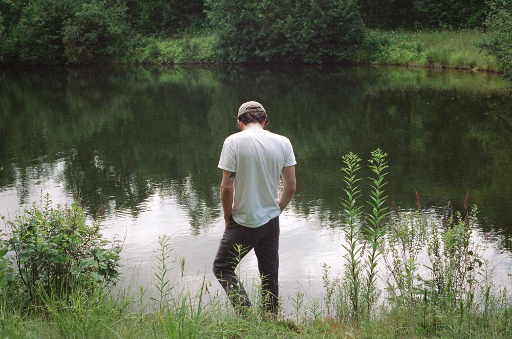 Matthew at the Tarn, Maine