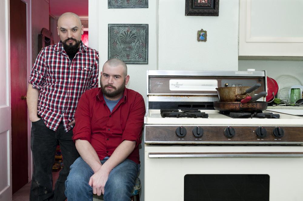 Chris and Josh, 2012