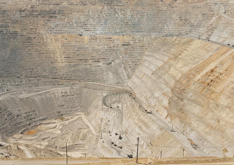 Untitled (Copper Mine) Bingham Canyon, Utah 2002