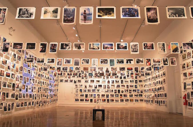 The exhibition here is new york, Prince Street, New York, 2001