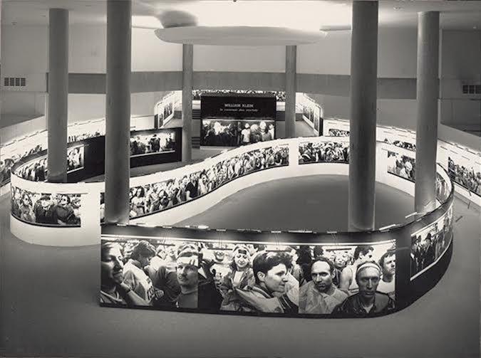 View of the exhibition William Klein: Le commun des mortels, 18 December 1986 – 2March 1987, Paris ©CNP