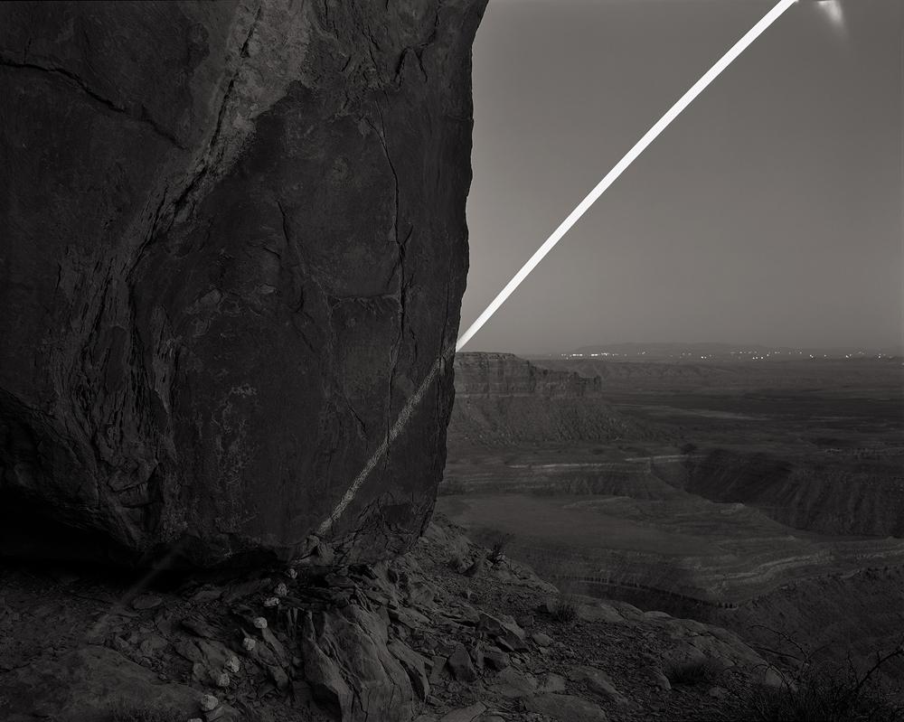 Chalk Moonrise, Muley Point, Utah