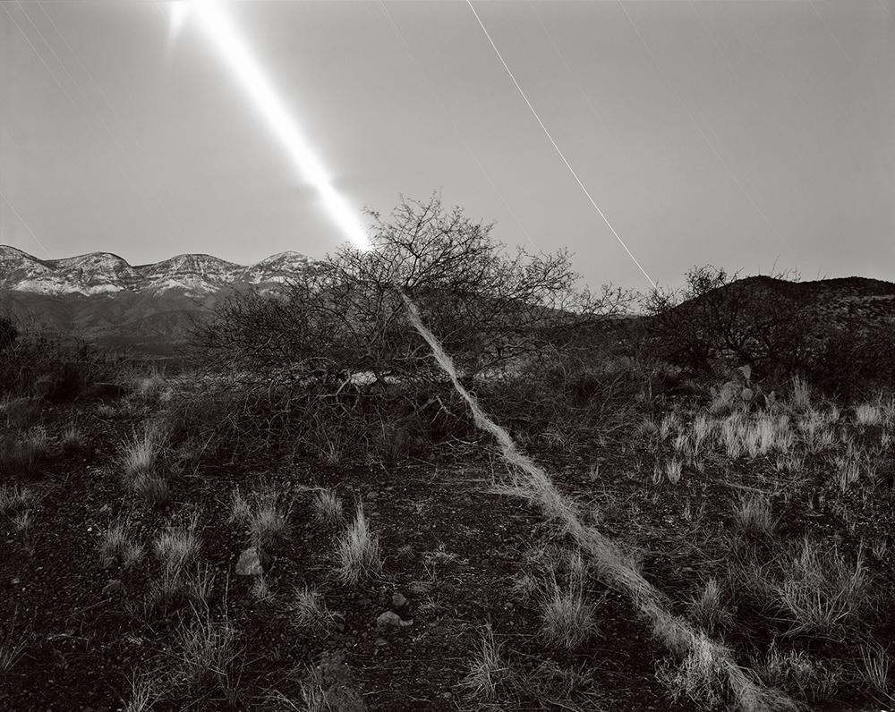 Mesquite Moonset, Mazatzal Wilderness, Arizona