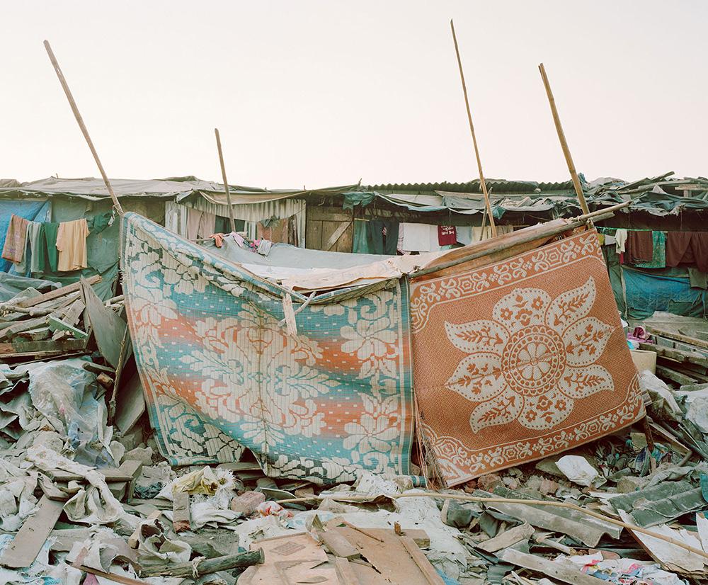 Rebuilt Home #1; Lallubhai Compound, Mumbai by Noah Addis