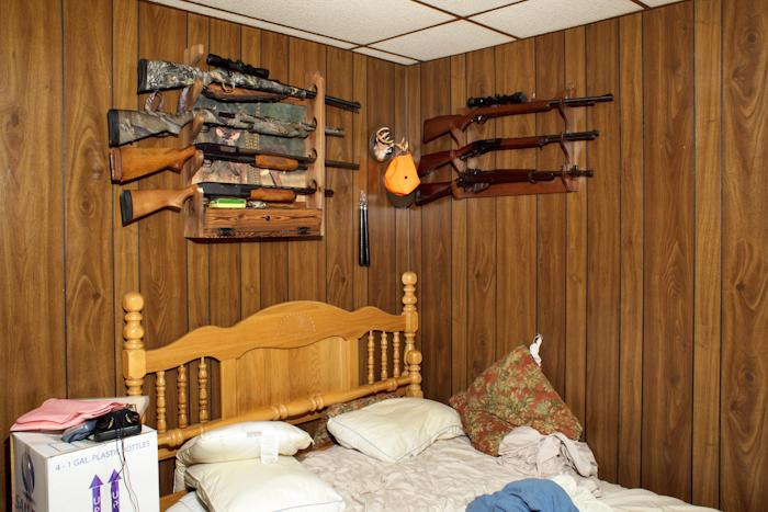 Bedroom, West Warwick, RI by Jordan Baumgarten