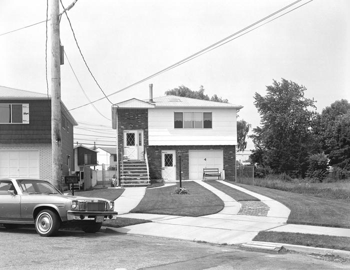 House With Curved Sidewalk  by Christine Osinski