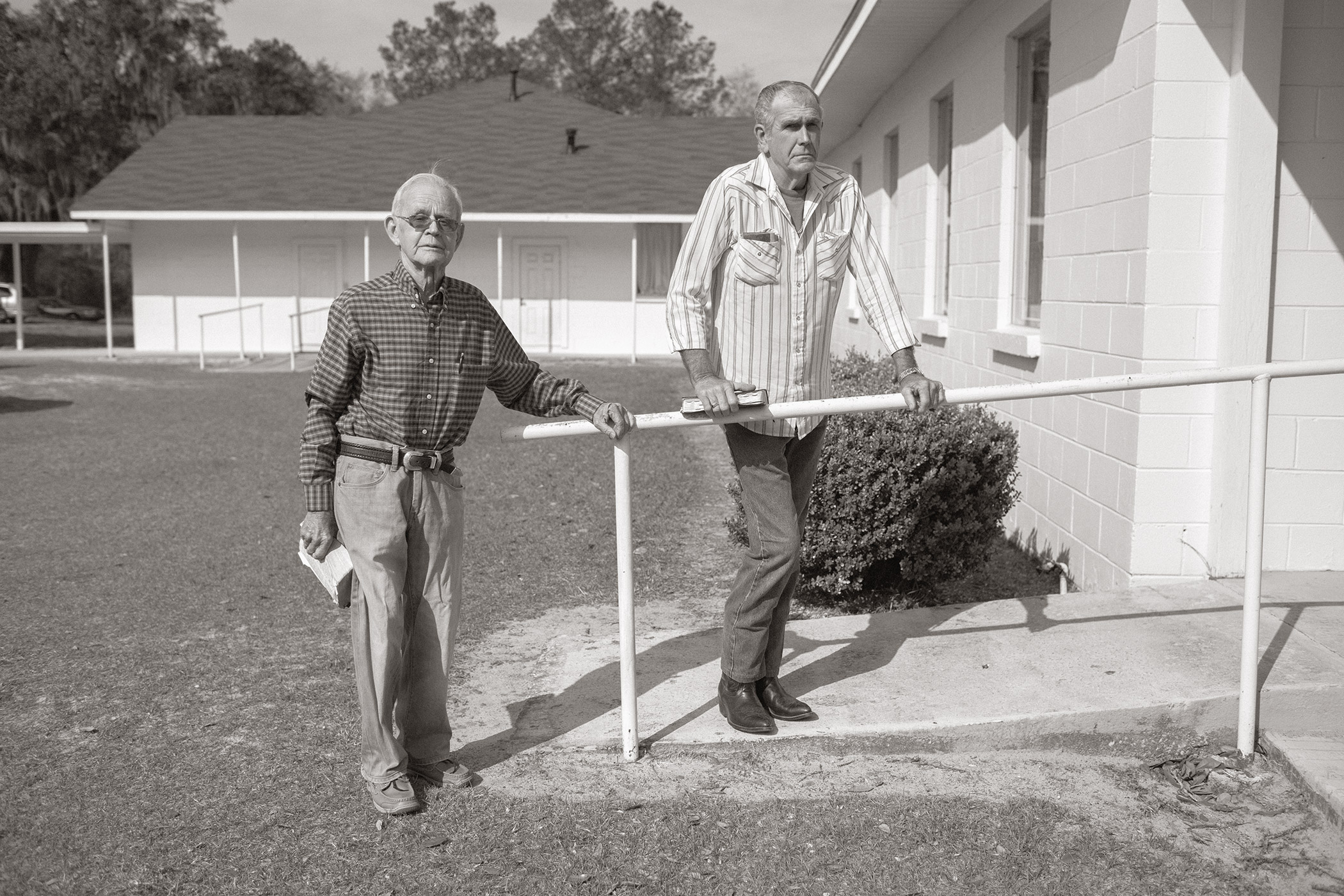 Men Before Church, Pinetta, FL