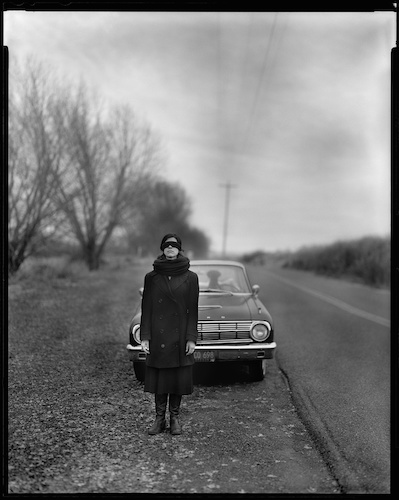 Ms. A. Jones, Sauvie Island, 2009 no2. 8x10 inch, silver gelatin contact print. © Jake Shivery