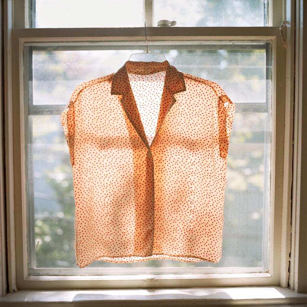 Polka dot blouse (Providence, RI) 2014