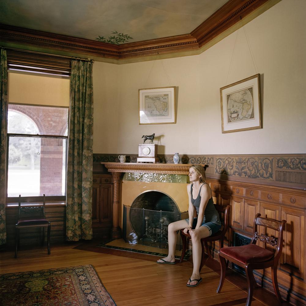 Edith, at home (Milton, MA) 2013