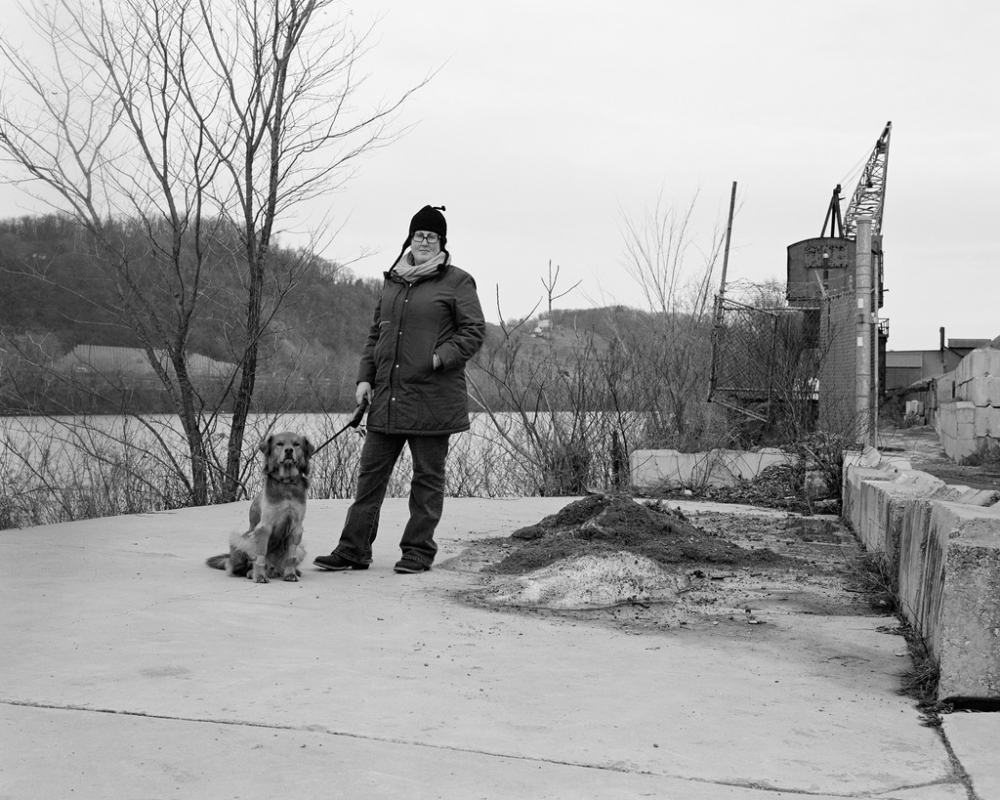 Lea and Jones by the Allegheny River, Lawrenceville, Pittsburgh, PA; 2011