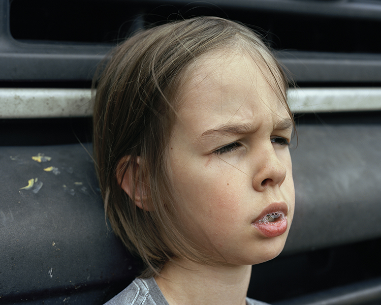Justine Kurland,  Spit Bubble , 2013, © Justine Kurland
