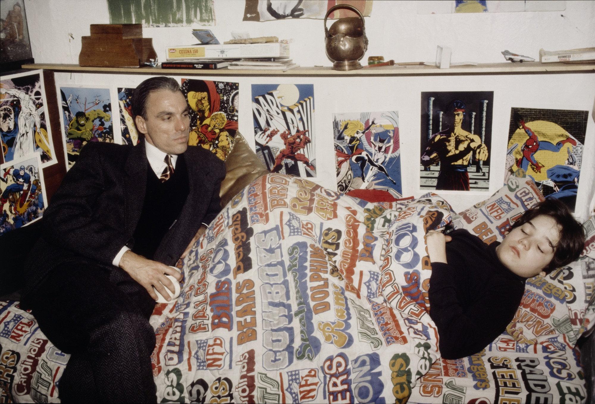 Nan Goldin,  Max and Richard, New York City,  1983