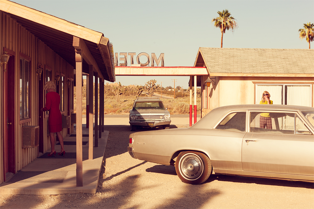 Motel – Palmsdale, California, USA