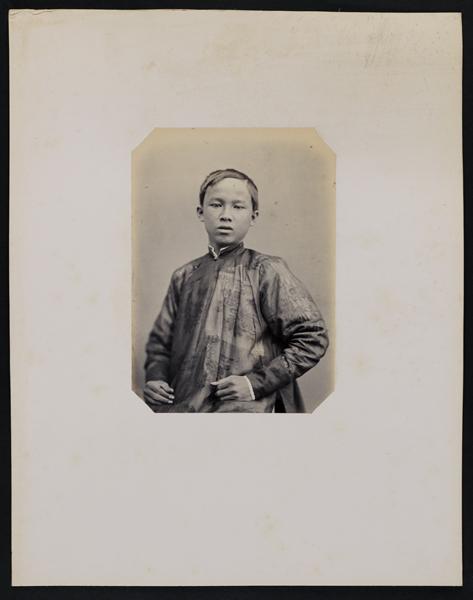 Jacques-Philippe Potteau. Ambassade Cochinchinoise à Paris, frontal. 168. Tran-van Luong (17 ans) fils du Préfet de Saigon, 1863. Albumen print, . Anonymous Gift, 2008. © 2017 Art Gallery of Ontario.