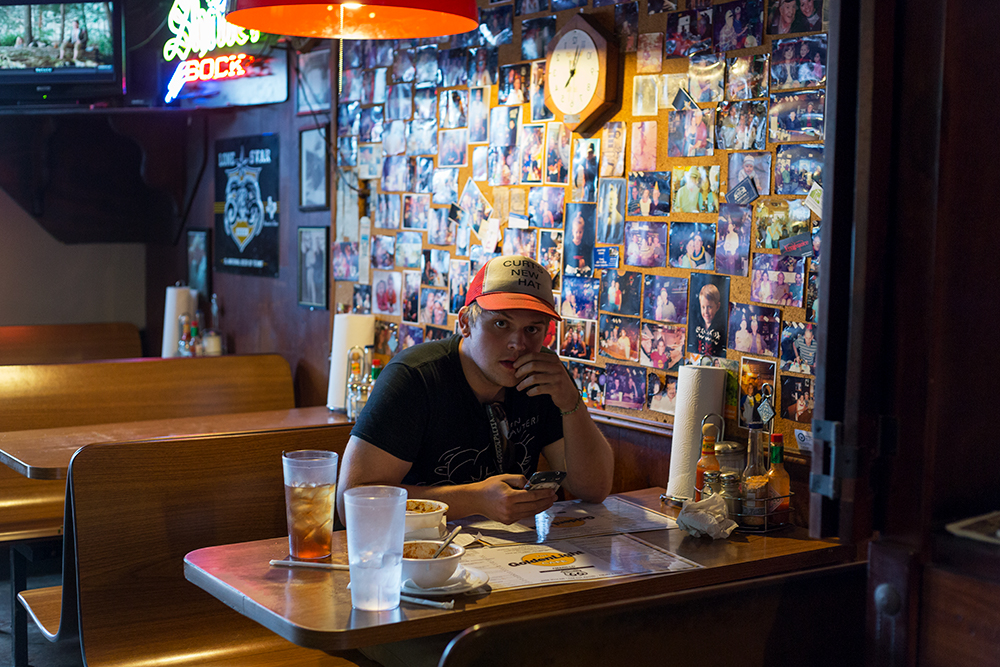 Curt at the Golden Light Cantina, Amarillo, TX