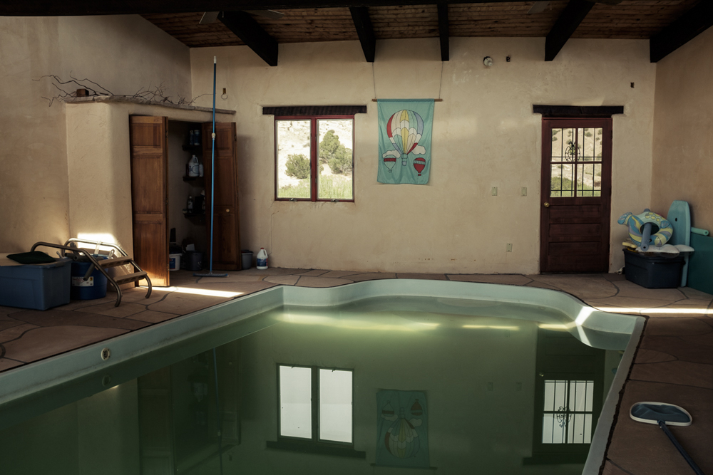 Poolhouse, New Mexico