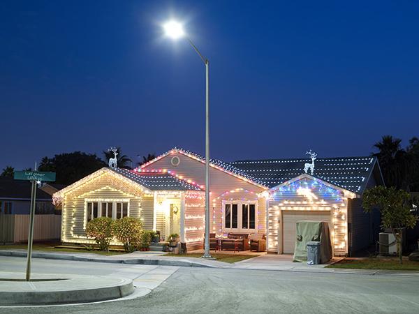 Christmas Lights at Lava Circle