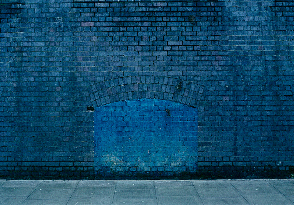 Blue Wall, London, 2012