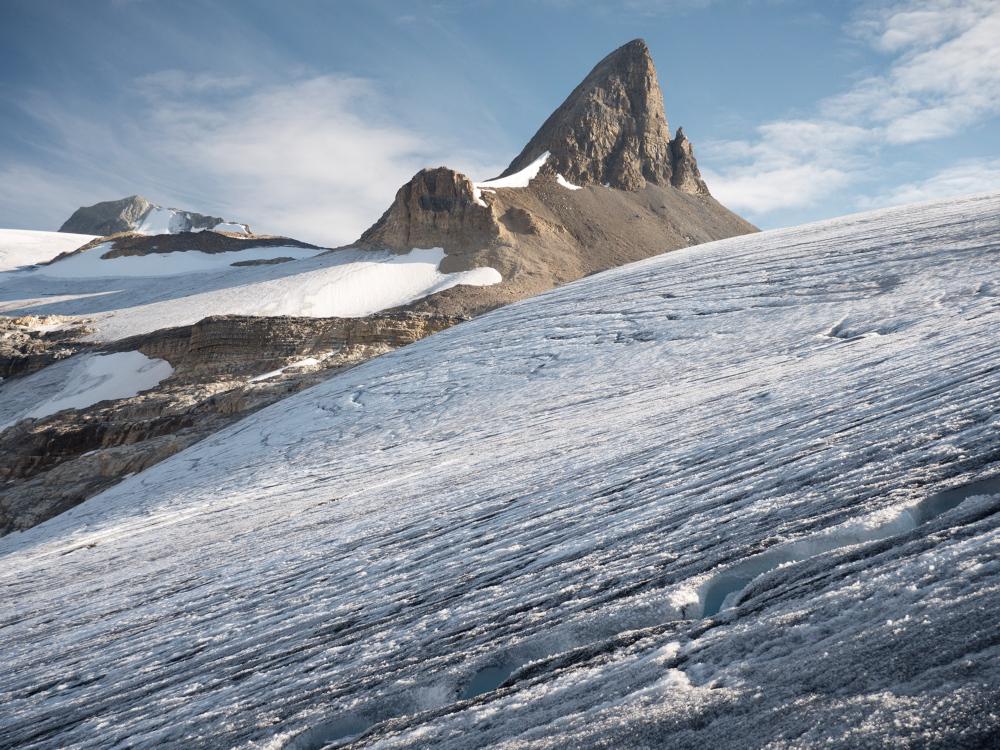 Saint Nicholas Peak and Wapta Icefield, Banff National Park, Alberta