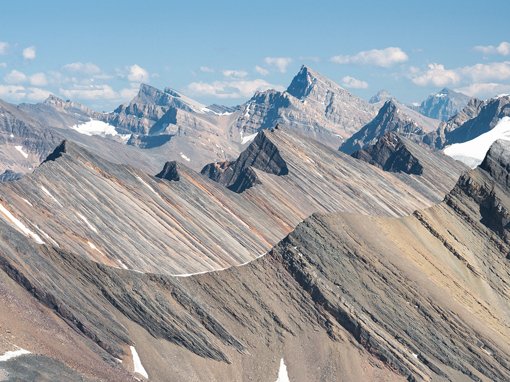 Sunwapta Peak Summit View, Jasper National Park, Alberta