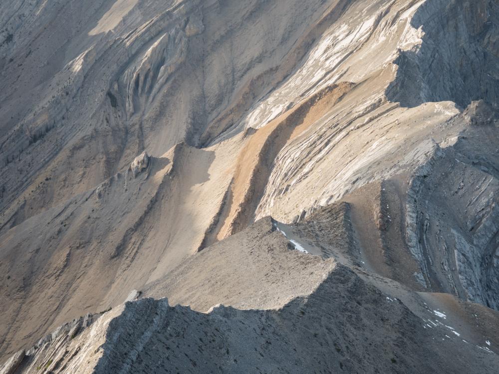 Ridge Connecting Gap Peak to Mount Fable, Kananaskis Country, Alberta