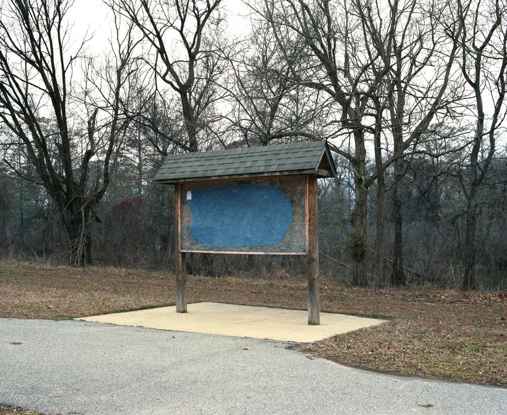 Blue sign, Arkansas