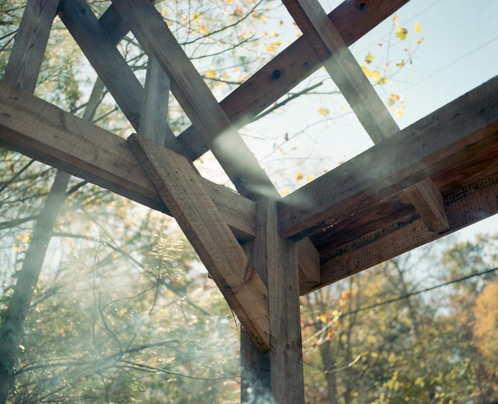 At Dale's cabin, Leicester, North Carolina II