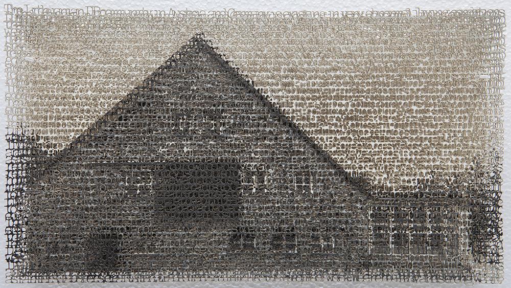 Seligenstadt 1, 8x10, layered laser cut pigment prints, 2017