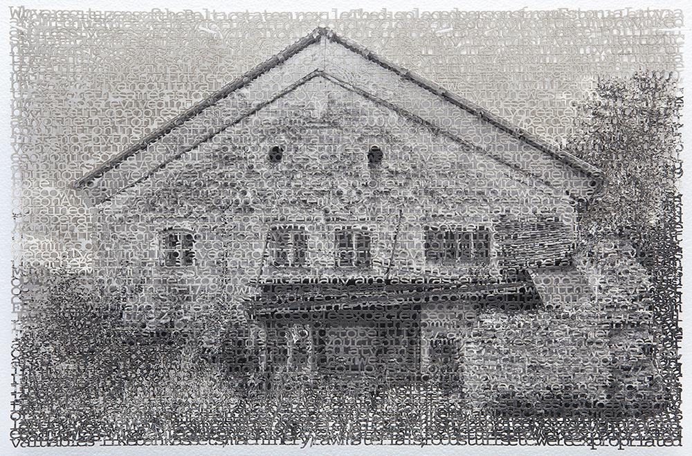 Eichstatt 1, 14x21, layered laser cut pigment prints, 2018