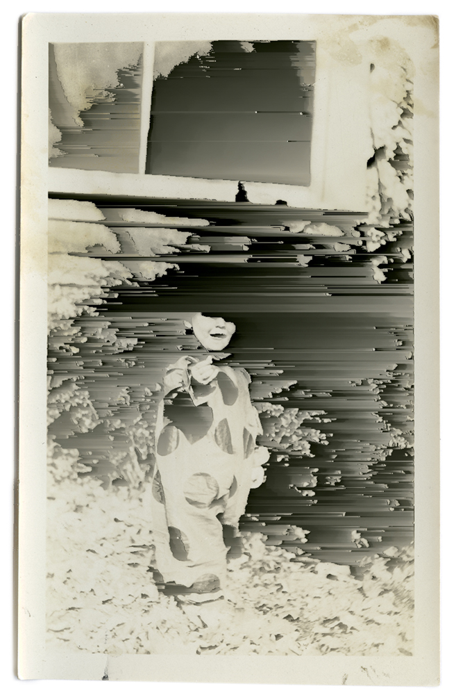 1-      Untitled (boy in clown costume)