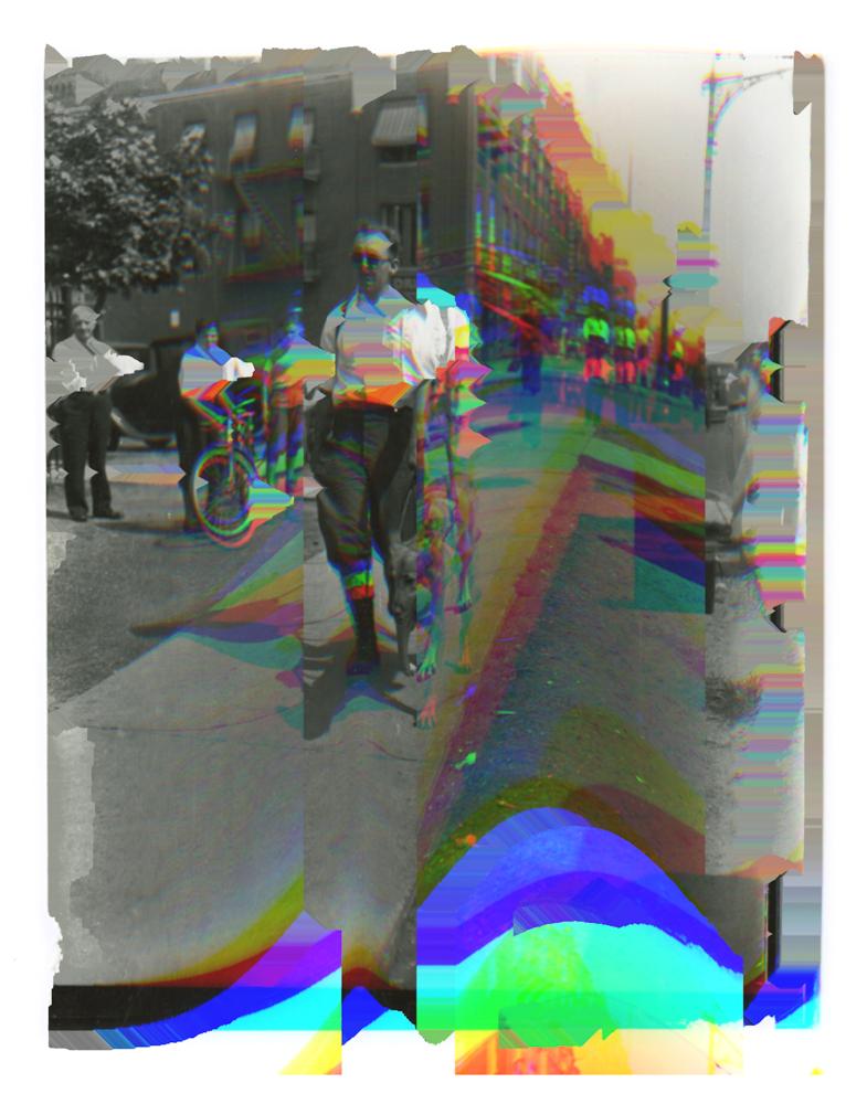 Untitled (blind man