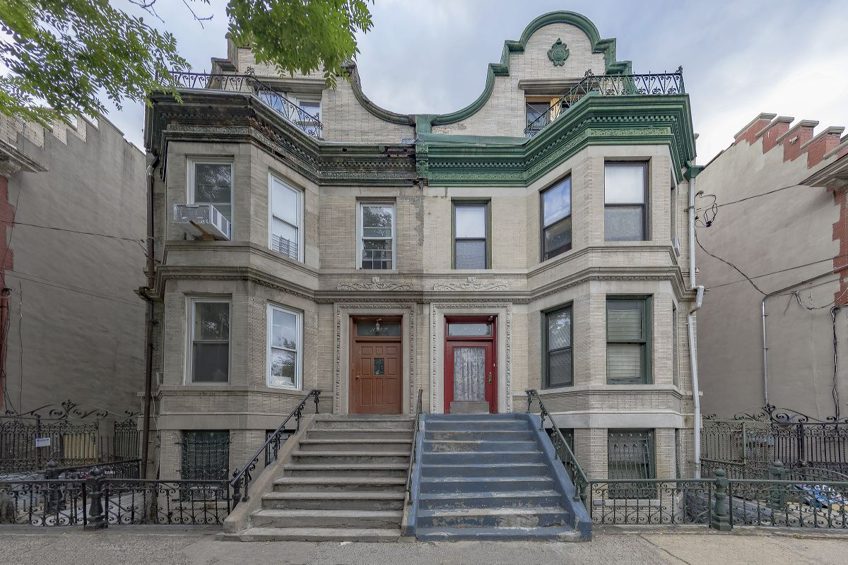 House on Clay Avenue, South Bronx