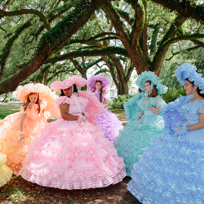 Azalea Trail Maids by Adair Rutledge