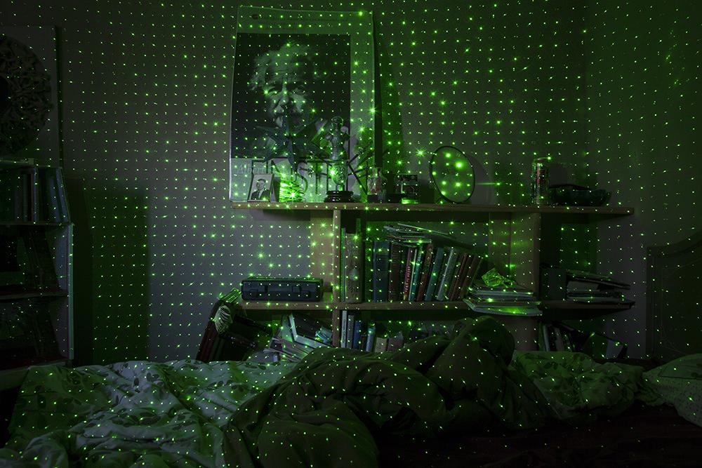Tracing Spirits (Einstein), 2015, © Barbara Diener