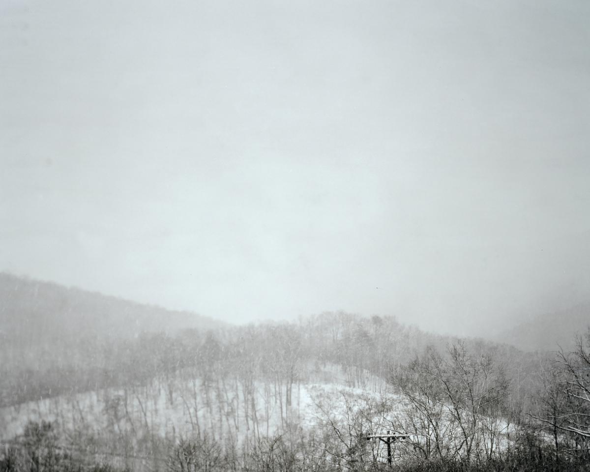 Snowstorm. Cumberland Gap, TN. 2016.