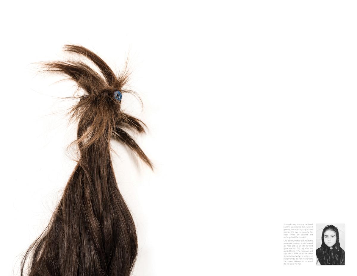 Fazilat Soukhakian   Forbidden Hair   2016
