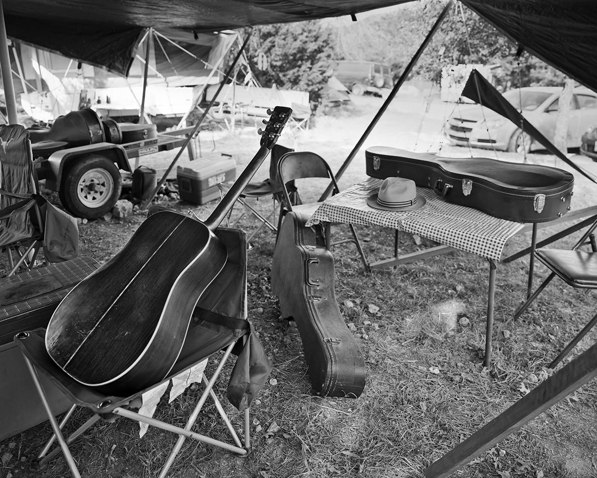 Guitars at Camp Bungee
